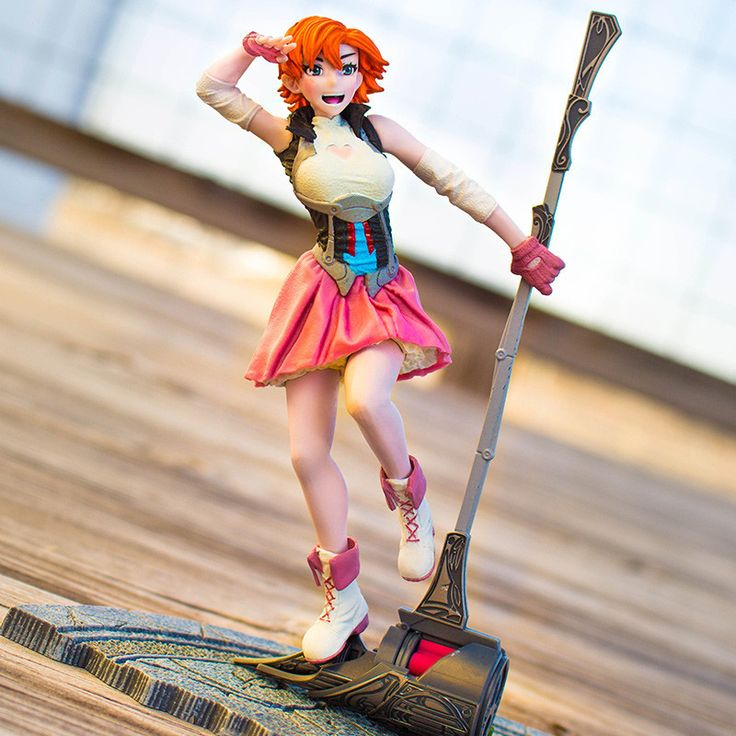 "Figure is 6"" high. Second of four Series 2 figures created by McFarlane Toys.  (Pyrrha and Ren to follow!)"