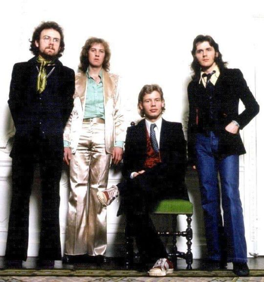 Robert Fripp, David Cross, Bill Bruford & John Wetton of King Crimson