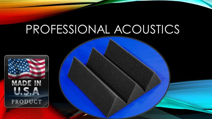 """Professional Acoustics Foam 4"""" Thick Wedge Style 4ft X 6ft Sheet (24 Sq Ft)"""