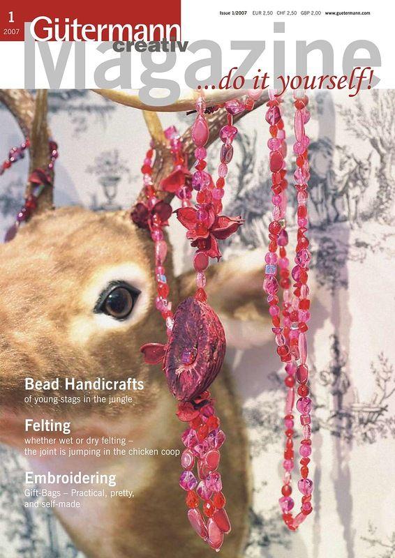 Gutermann Creativ Magazine №1 2007