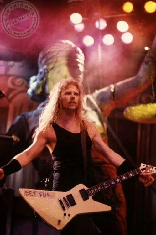 James Hetfield Of Metallica