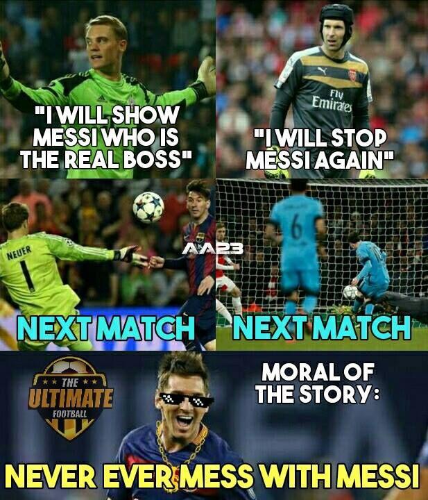 King Messi | Football jokes | Pinterest | Messi, Football ... Funny Football Trolls 2017