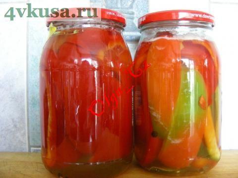 Перец маринованный с медом | 4vkusa.ru