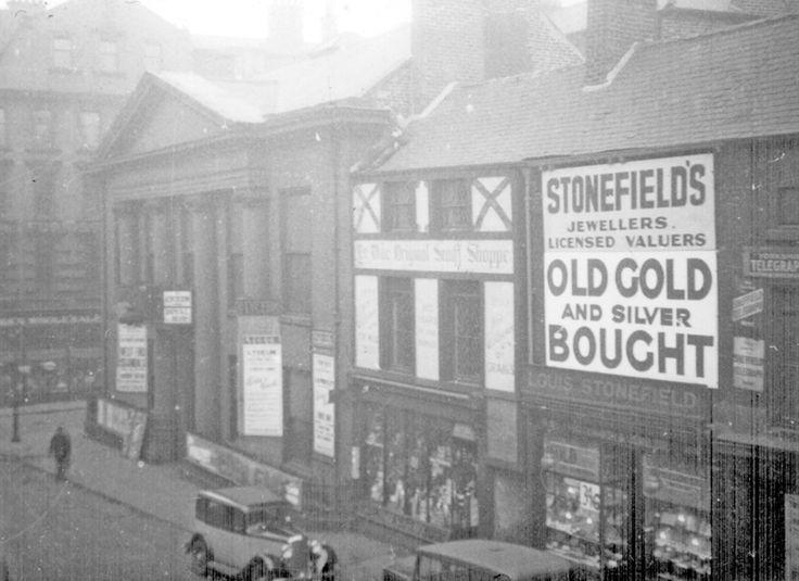 Norfolk Street, Assembly Rooms, No 87, Ye Olde Original Snuff Shoppe, Louis Stonefield, Jeweller
