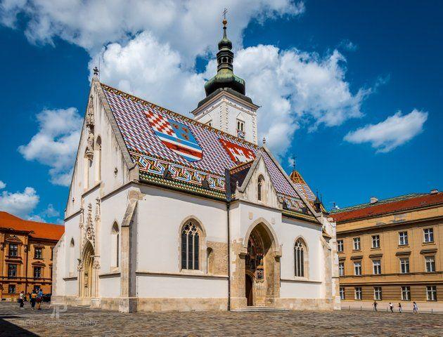 European Thursday St Marks Church Zagreb Steemit Zagreb Church House Styles