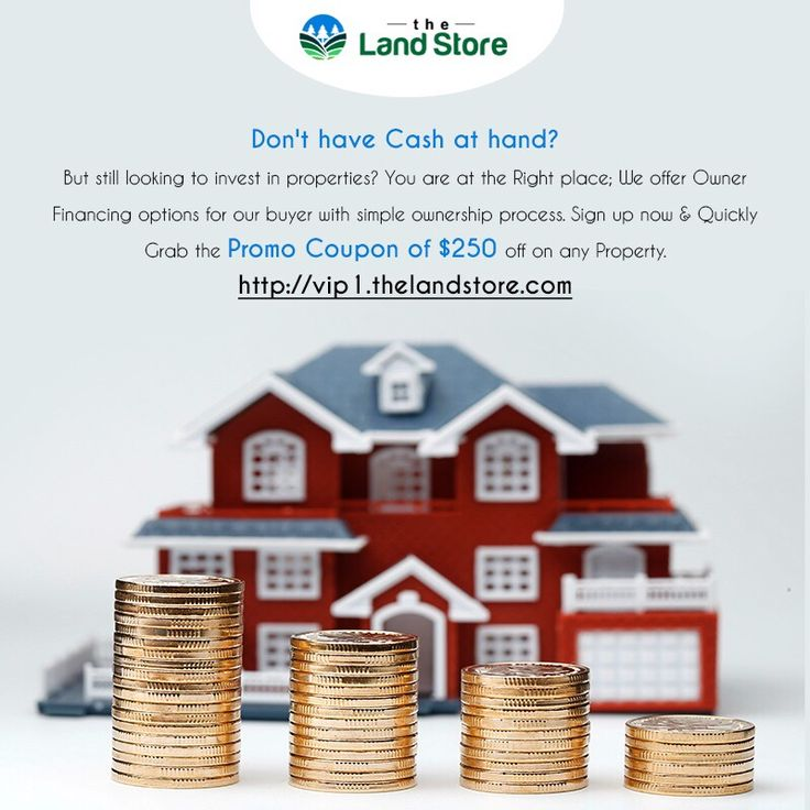 Good News! Good News! Attention to all the property buyers No Cash at Hand? But still looking for long term security? Here you go! It's all simple while dealing with The Land Store we offer Owner Financing options on our properties. Don't Miss the Chance! Sign up now to avail this benefit. http://vip1.thelandstore.com/   #RealEstate #FloridaRealEstate #RealEstateMarketing #Properties #PropertyForSale #Investment #InvestmentOpportunity #LandInvestment #LandForSale #OwnerFinancing