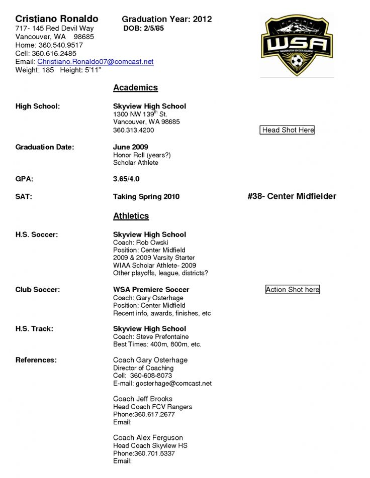 soccer coach resume example job and template inside player sample samples