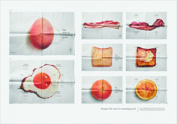 Smith Restaurant + Bar - Smith Brunch Menu by Leo Burnett Toronto - Case Study