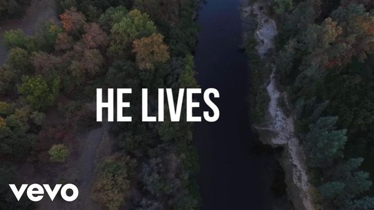 Chris Tomlin - He Lives (Lyric Video)--- We confess the One True GOD and Christ Jesus our Lord Savior; He, our LORD God, is alive in us and we are alive in Him. =)