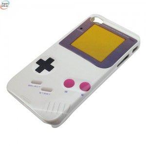 "Iphone 4 Case Holder Retro ""Gameboy"" Design"