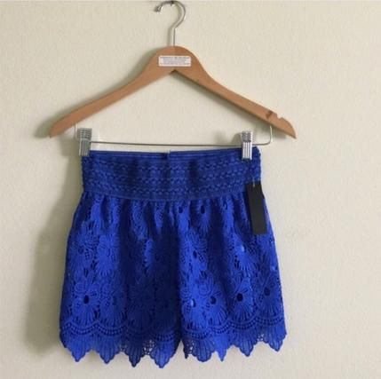 Sexy Crochet Lace Short for Pettit And Small Sizes