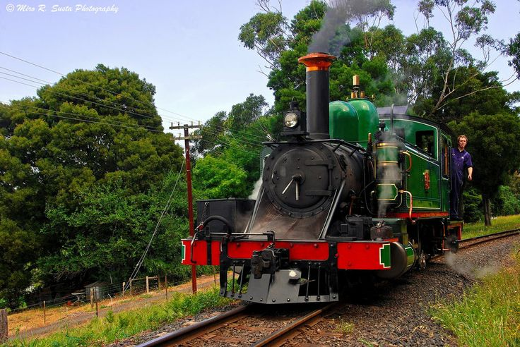Preparing for new Ride...... Puffing Billy railways from Belgrave to Lakeside in the scenic Victorian Dandenong Ranges.
