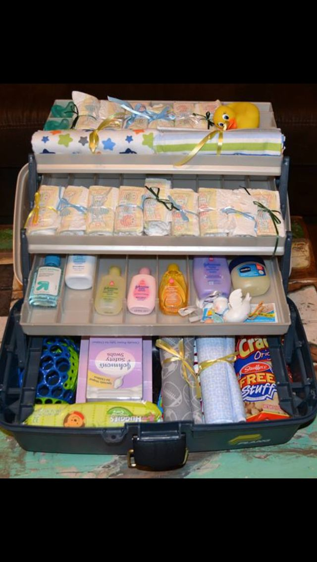 Daddy diaper toolbox!