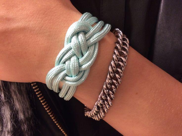 DIY Pakket: armband in de knoop. Te vinden in onze Shop www.femzshop.nl