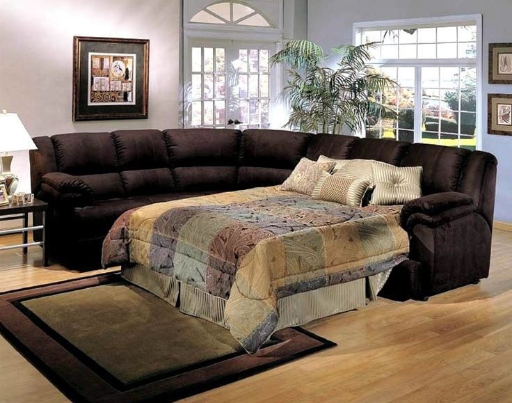 sectional sleeper sofas whether a fabric vinyl or leather sectional sofa is chosen for a small space it can provide versatility as w