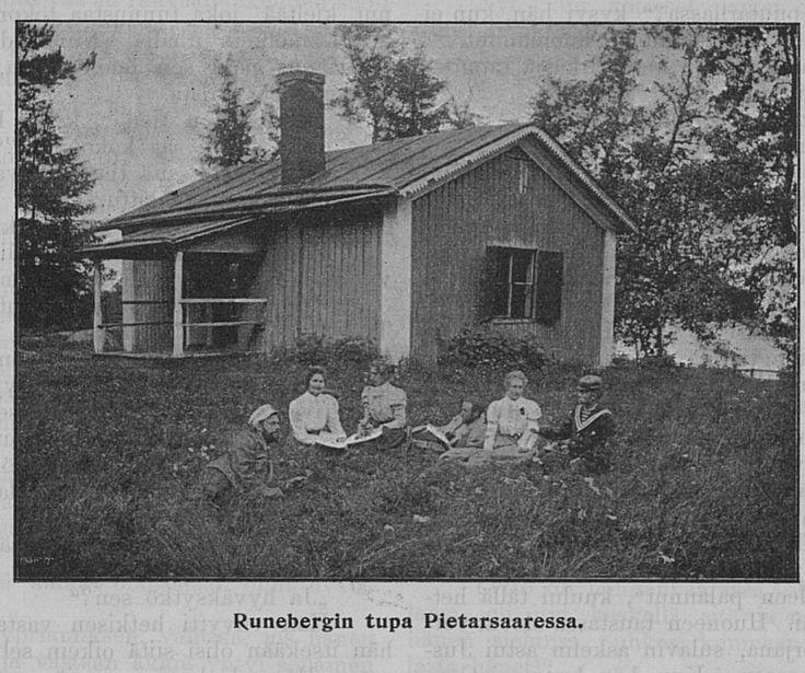 Runebergin syntymäkaupunki Pietarsaari, 1901