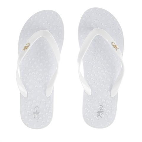 Pure White Flip Flops – flopZ