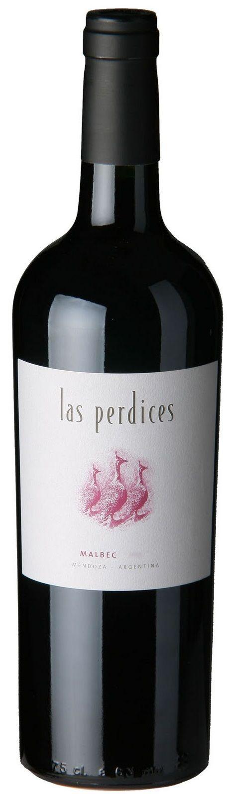 """""""Las Perdices"""" Malbec 2012 - Bodega Viña Las Perdices, Luján de Cuyo------------------------- Terroir: Agrelo------------------------- Crianza: 8 meses en barricas de roble francés y americano"""