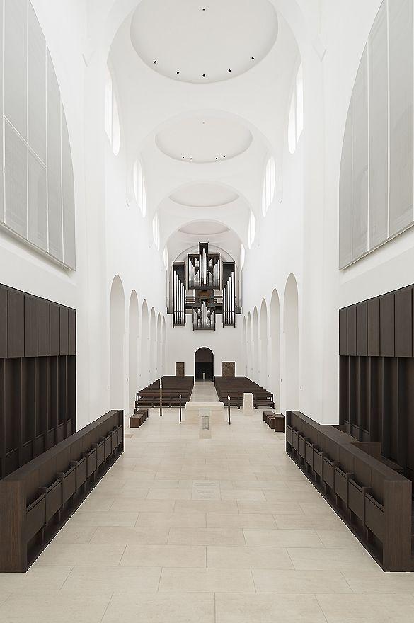 Umbau der Augsburger St. Moritz - Kirche durch John Pawson