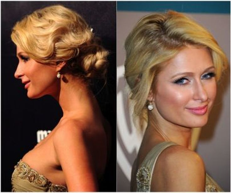 Amazing Wedding Updos Inspired by the Red Carpet: Paris Hilton
