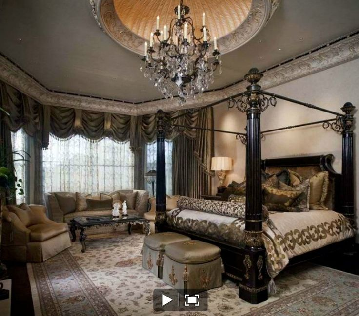 Small Bedroom Curtains Traditional Master Bedroom Interior Design Bedroom Decorating Ideas And Bedroom Furniture Bedroom Decor Stores: Pin By Habouba On Interior Design: Old World/Traditional