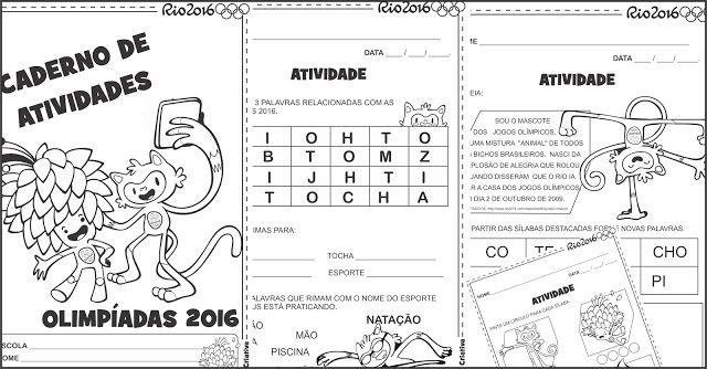 Lipitipi- Atividades e Projetos Fundamental I: Sequência Didática Olimpíadas Rio 2016 Alfabetizaç...
