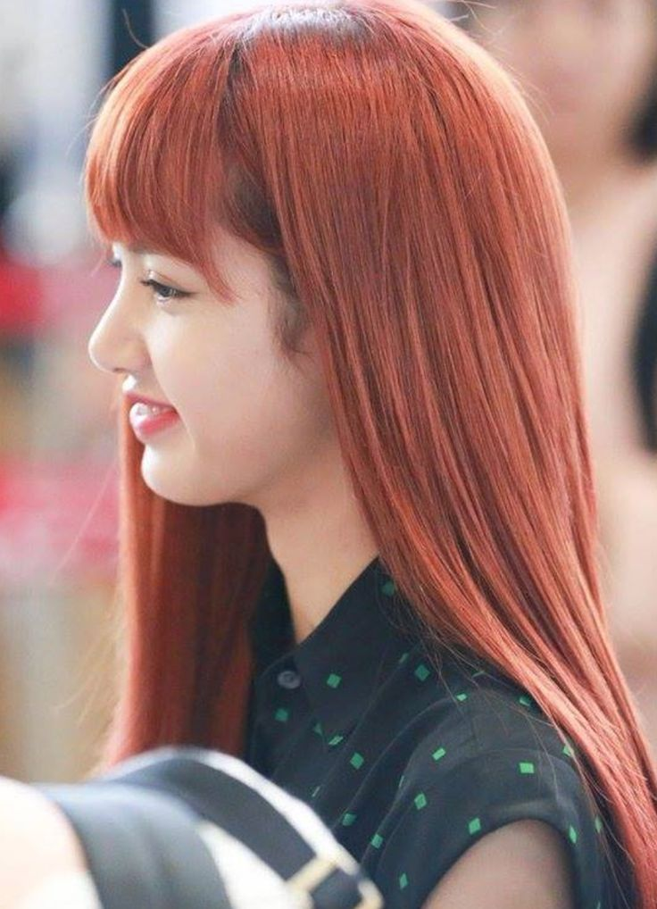 Lisa has such a nice side profile bye