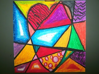 6th GRADE - Jim Dine Hearts