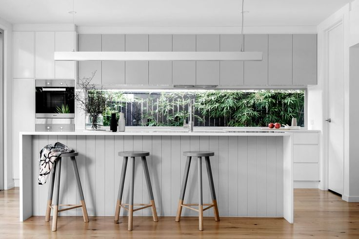 Wooloowin display home kitchen. Image by Cathy Schusler. kalka.com.au