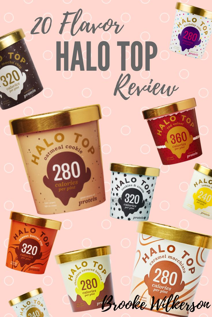 Halo Top Ice Cream Flavor Review!