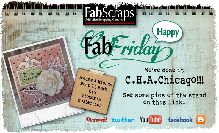 With Love From FabScraps: CHA Summer 2012 ;-) http://www.facebook.com/pages/FabScraps/112579348780638