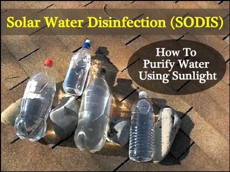 Solar Water Disinfection Method Sodis Super Easy Way