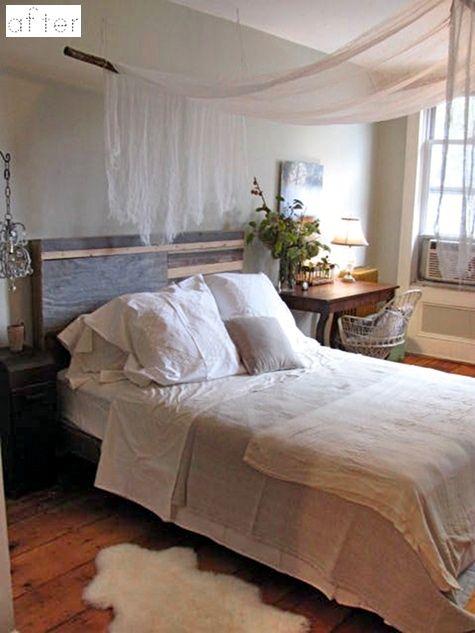 How ingenious!Bedrooms Makeovers, Beds Canopies, Linens Bedrooms, Master Bedrooms, Canopies Beds, Dreamy Bedrooms, Bedrooms Furniture, Bedrooms Inspiration, Bedrooms Decor
