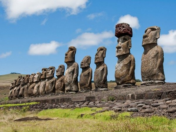 High gods that cared about human morality were rare in Austronesia, a region that includes Easter Island.