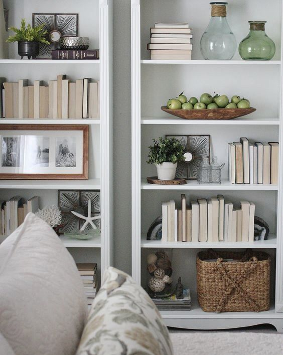 Creative Bookshelf Styling and Layering Tricks                                                                                                                                                                                 More