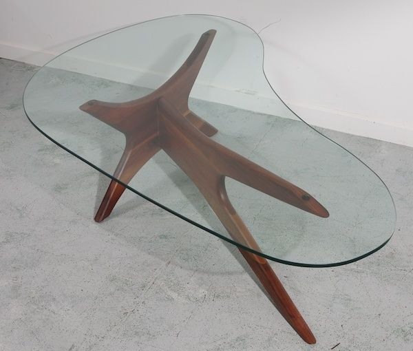 deluxe mid century coffee table base