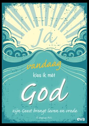Ik kies met God-poster - Geloven