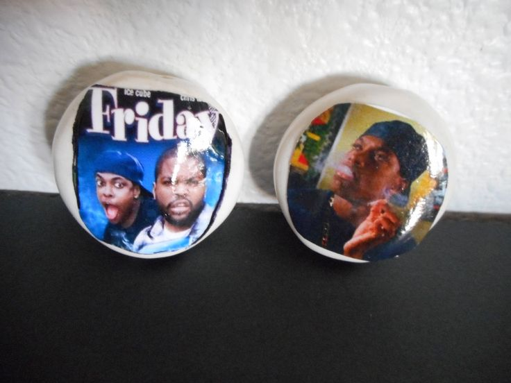 Craig and Smokey from Friday ceramic smoking stones by LesalovesMosaicArt on Etsy