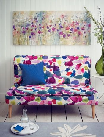 Save Space In A Small Living Room With Snuggler Sofa