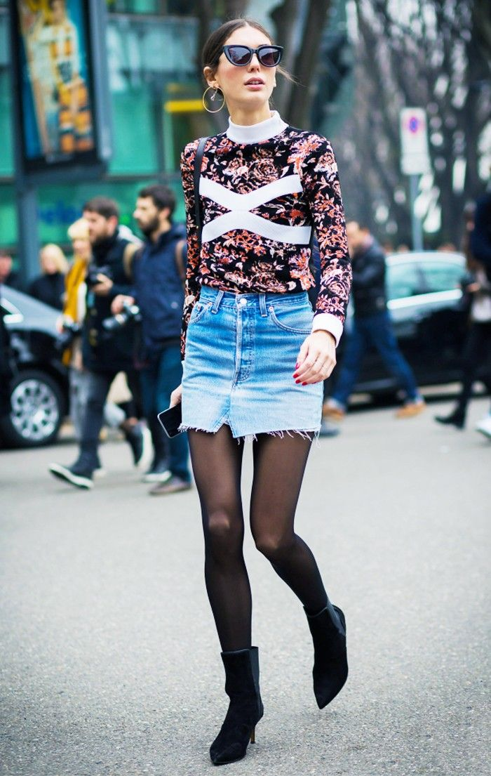 The Skirt We Didn't Expect to Make a Comeback via @WhoWhatWear