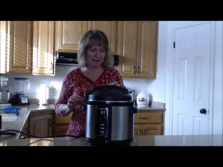 How To Use the Cuisinart Pressure Cooker - If you've asked Santa to put a Cuisinart Pressure Cooker under your tree this Christmas watch this video. #pressurecooking