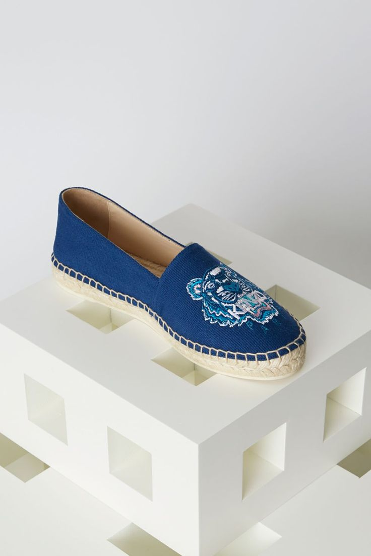Kenzo Tiger Espadrilles - Kenzo Shoes Women - Kenzo E-shop