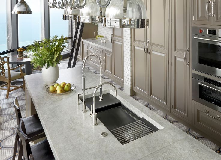 This Galley Ideal Workstation 4 Sits Perfectly In This High Rise Unit  Located In The