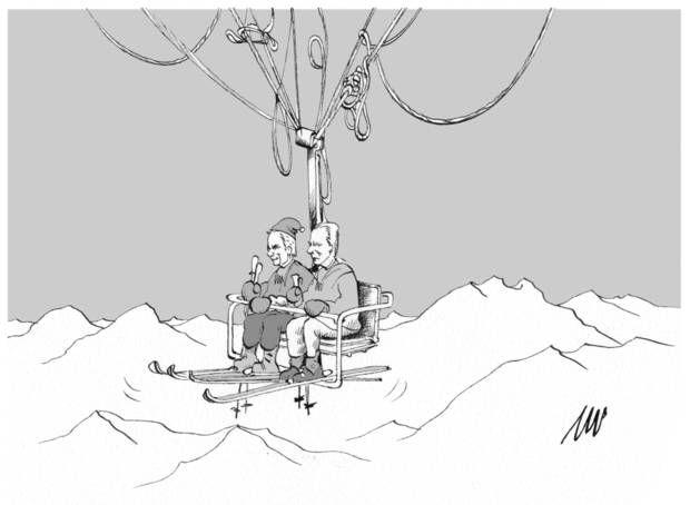 Schladming: Der Lift auf den Steuerreform-Spitz (28.09.2014) #Pammesberger