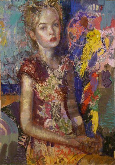 .Art 2D, Pretty Colors, Artfac Artists, Artists Inquiry, Charles J. Dwyer, Painting, Dwyer 1961, Art Facs Artists, Charles Dwyer