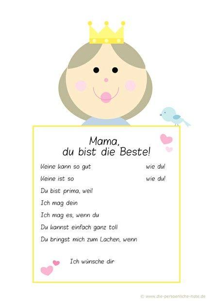Was Kinder zum Muttertag schenken können