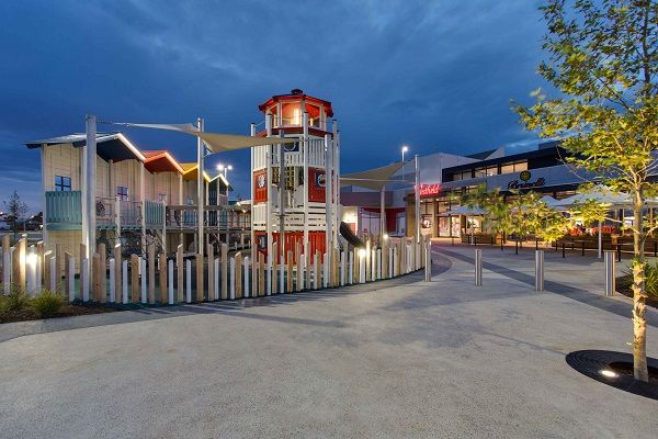 This thematic playground is located in West Lakes, Australia.