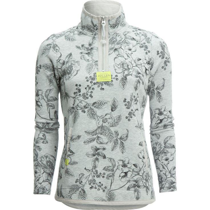 Joules - Southwold Cowl Neck Sweatshirt - Women's - Grey Marl Winterberry