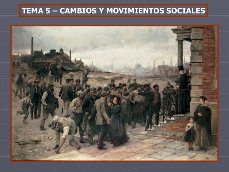Cambios y movimientos sociales en el Siglo XIX by Oscar González via slideshare