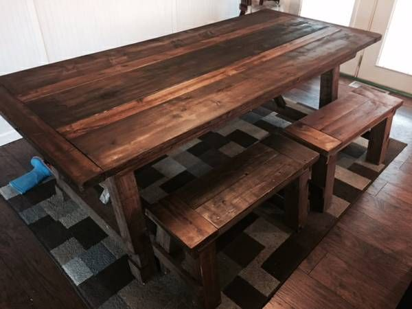 Foyer Table Craigslist : Craigslist grand rapids quot farmhouse table with